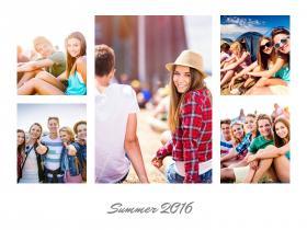 Collage-amis-avec-5-photos