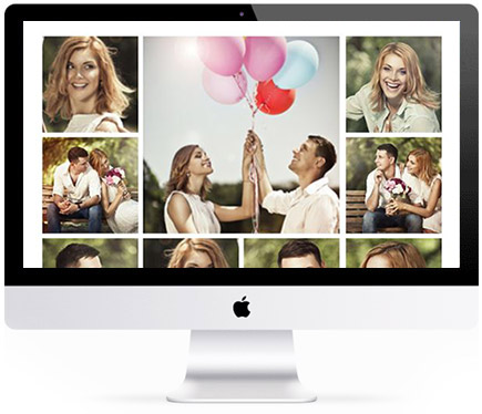 Collage photo sur mac
