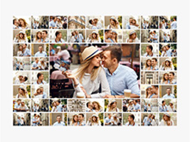 collage slider plusieurs photos distributeur