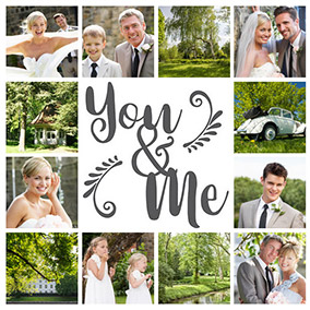montage photo mariage slider