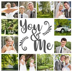 montage photo mariage slider