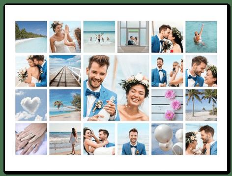 montage photo mariage principal