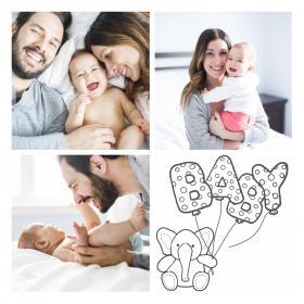 pêle mêle famille et bébé